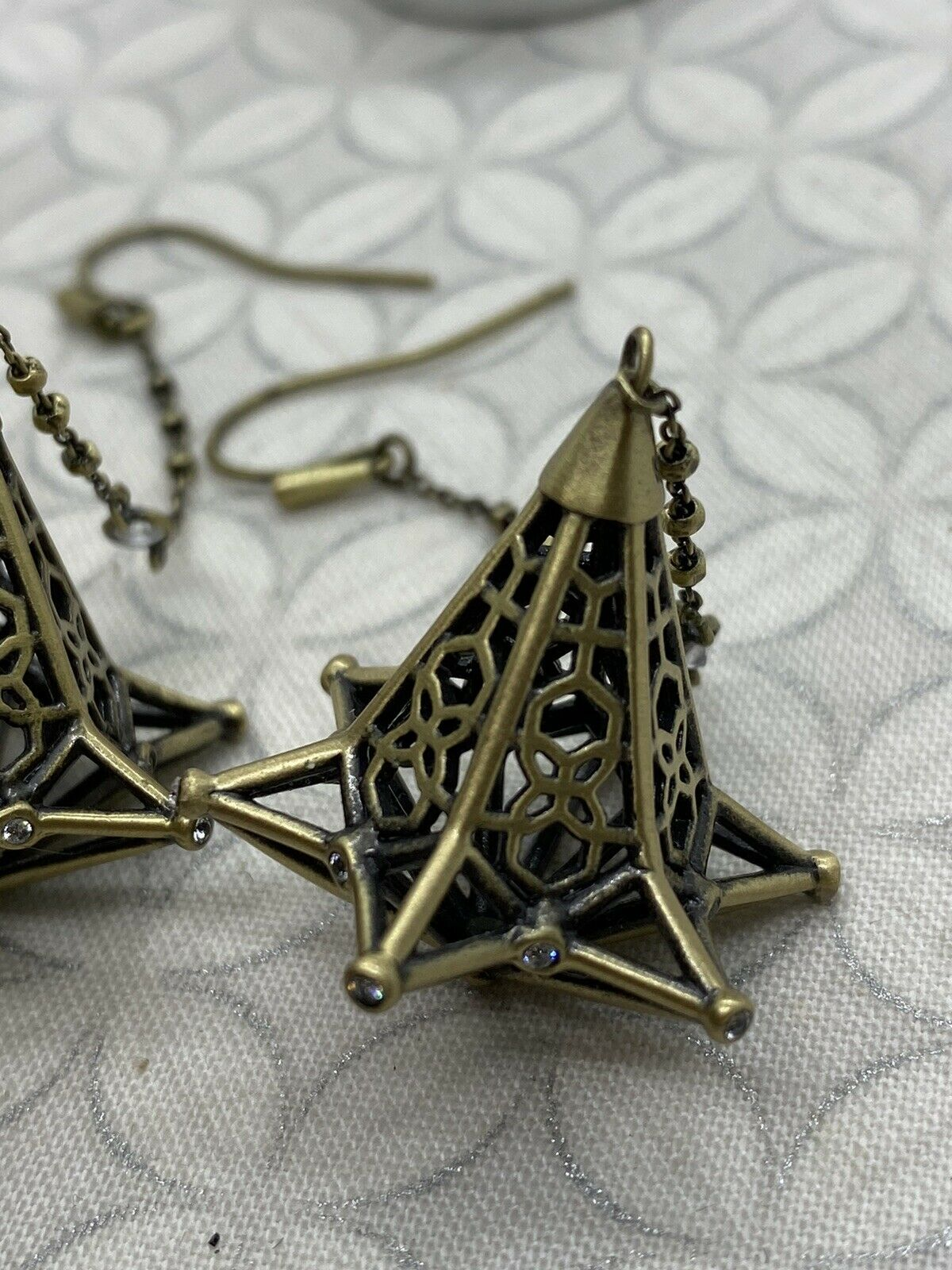 Kendra Scott Diana duster long dangle earrings an… - image 8