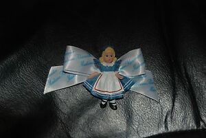 Alice-in-Wonderland-pin-by-Madame-Alexander-New-with-Madame-Alexander-Ribbon