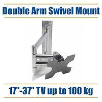 Tv Wall Bracket Mount Strong Led Lcd Swivel Arm 17 19 21 22 23 24 27 28 31 32 34