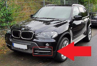 BMW X5 E70 2007-2010 M Sport Genuine Front Bumper Left N//S Passenger Side Grill