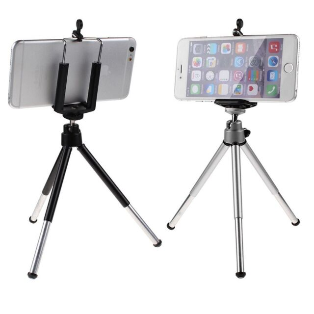 360°Rotatable Cell Phone Stand Tripod + Holder For iphone Samsung Galaxy GPS