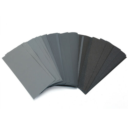 LotFancy 45XSandpaper 80-1000 1200 1500 2000 2500 3000Grit Wet Dry Assorted Wood