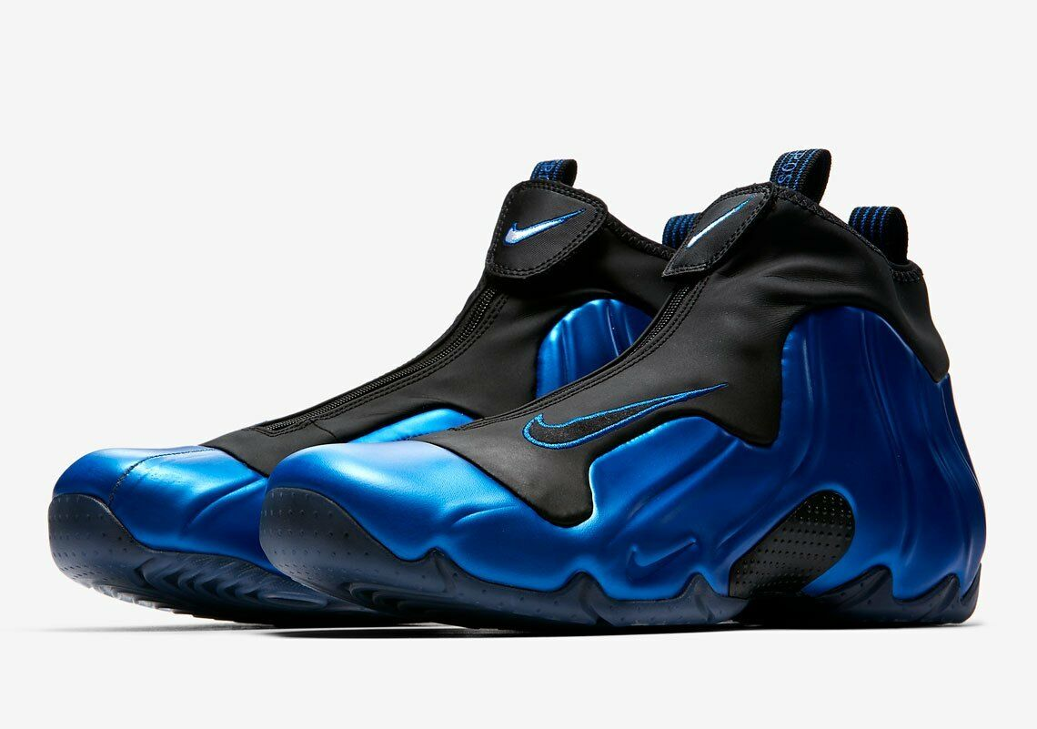 494025bc7c2c Nike Air Flightposite Flightposite Flightposite Dark Neon Royal Blue Black  Basketball Men s AO9378-500 9087f3