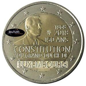 2-euros-commemorative-LUXEMBOURG-2018-150eme-anniversaire-de-la-Constitution