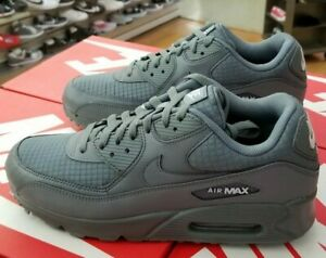 sports shoes 28cf6 1f386 Details about NIKE AIR MAX 90 ESSENTIAL MEN'S COOL GREY / WHITE AJ1285 017