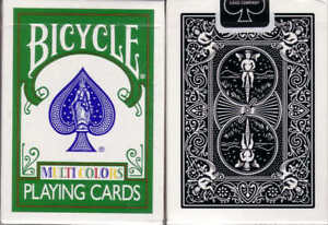 Le Meilleur Carte Da Gioco Bicycle Multicolors , Poker Size Emballage Fort