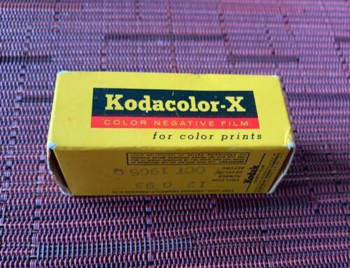 Kodak Kodacolor-X CX 127 Film Color Prints Expired Oct 1965