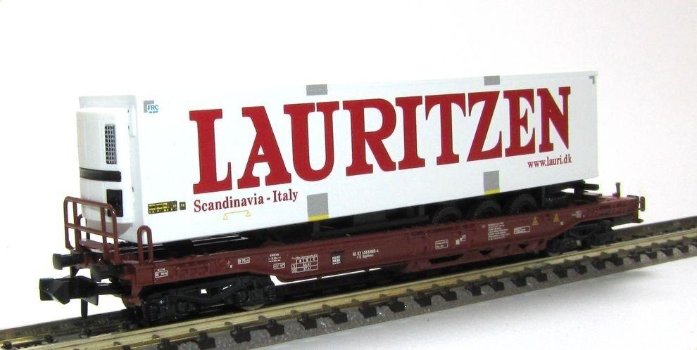 Fleischmann FS bolsillos carro con camión-hummer Lauritzen época V KK pista n nuevo
