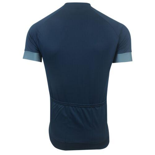 Deko Cycling Jersey Men/'s Full Zip Half Sleeve Summer Anti Slip Shirt High Top