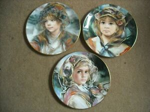 Choose-ONE-OR-MORE-Plates-FRANCISCO-MASSERIA-Wistful-Children-Child-Plate