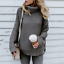 Turtle-Neck-Baggy-Tops-Chunky-Knitted-Oversized-Jumper-Sweater-Women-039-s-Winter thumbnail 15