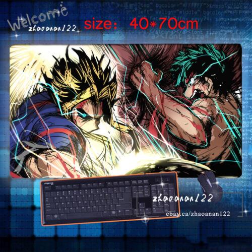 Anime My Hero Academia Pad Play Game mat Mousepad otaku Gift 40*70cm 0922