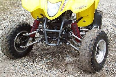 +6 or +4.5 Inches Wider Yamaha 90-03 Warrior A-arms /& Shocks Widening Kit