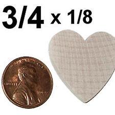 3/4 x 1/8  Wooden HEART craft cutout shape 50pcs 50x