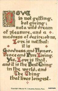 Arts-amp-Crafts-Love-Saying-C-1910-postcard-4395
