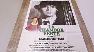 Détails sur francois truffaut LA CHAMBRE VERTE ! affiche cinema 1978