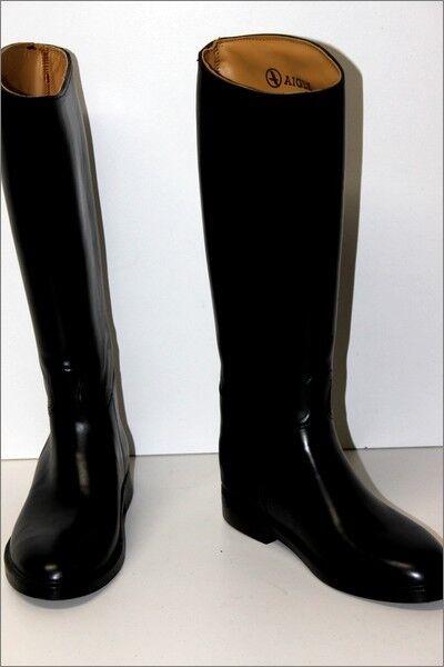 AIGLE botas Equitation Modèle Saumur negro  T 37 TTBE