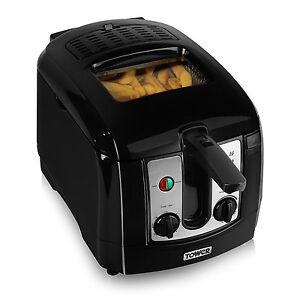 Tower T17002 Easy Clean Deep Fat Fryer 2300w - 3Ltr - Black  - Brand New  691201652459