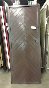 26 x 70 Apex Belgravia PERSONNEL GRP Dark Oak Front Doors