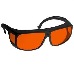 professionelle Laserschutzbrille 38ARG, bequeme Passform über Br... - 70140316