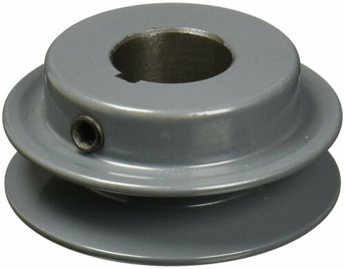 "TB WOOD/'S AK2558 5//8/"" Fixed Bore 1 Groove V-Belt Pulley 2.55/"" OD AUTHORIZED"