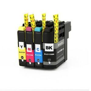 4-Ink-Cartridge-for-LC133-BK-LC135-XL-Brother-MFC-J6520DW-J6720DW-J6920DW