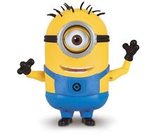 Despicable Me 3 Deluxe Talking Minion Carl Toy Figure Moves Eyes Arms