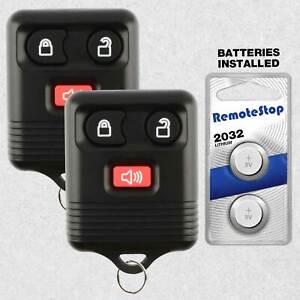 2 For 2005 2006 2007 2008 2009 2010 2011 Ford F150 F250 F350 Car Remote Key Fob