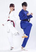 Standard Judo Suits Jiu Jitsu Cotton Kimono Uniform Include The Judo Belt