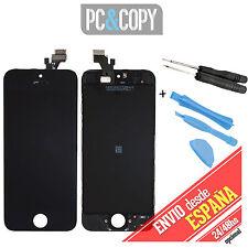 Pantalla LCD RETINA+Tactil completa para iPhone 5 5G A1429 NEGRO A+ HERRAMIENTAS