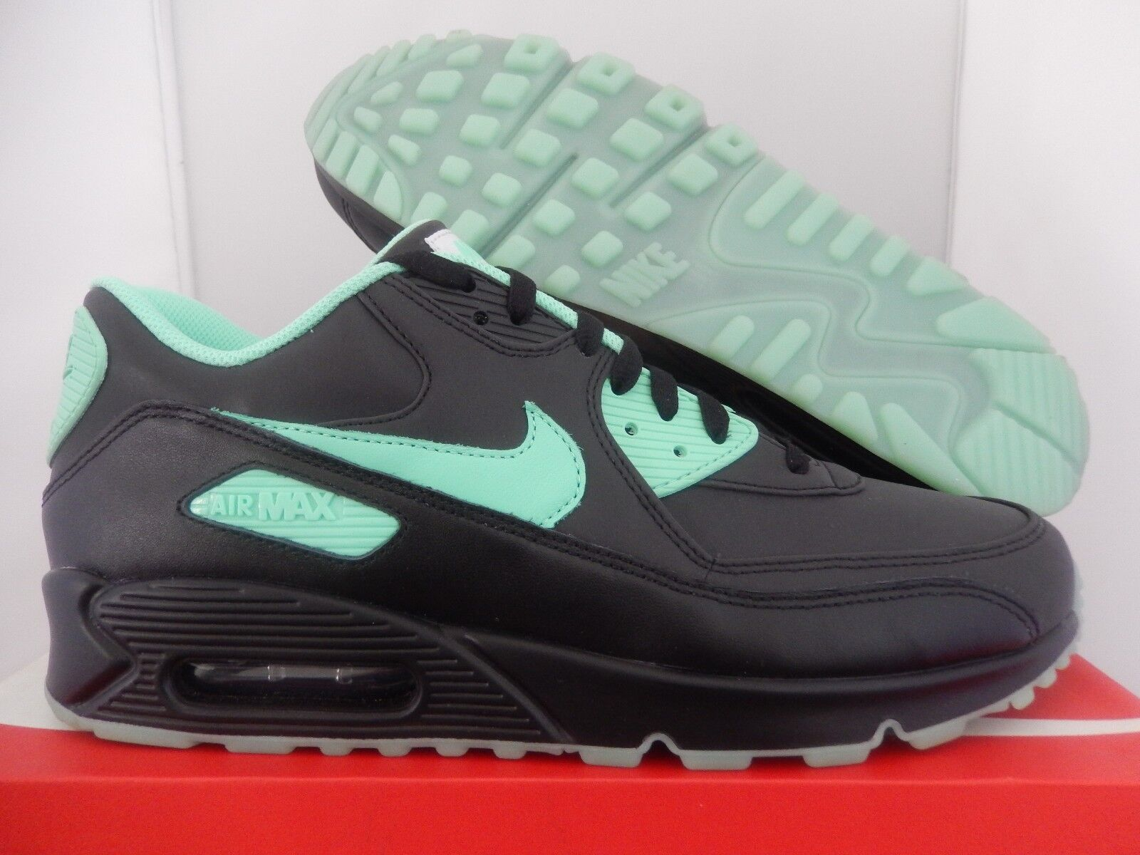 Nike air max 90 id nero-mint green sz - 653533-999]