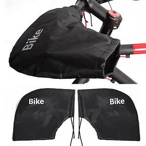 Winter Bicycle Bike Handlebar Warm Cover Waterproof