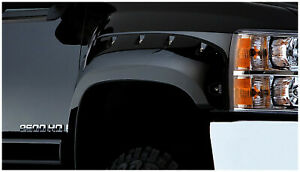 Bushwacker 4005102 Chevrolet//GMC Cut-Out Fender Flare Front Pair