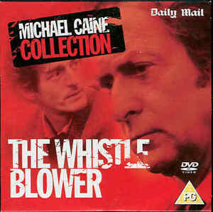 THE WHISTLE BLOWER  Michael Caine  DVD - London, London, United Kingdom - THE WHISTLE BLOWER  Michael Caine  DVD - London, London, United Kingdom