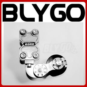 SILVER-Universal-Motorcycle-Alloy-Adjustable-Chain-Tensioner-PIT-Trail-Dirt-Bike