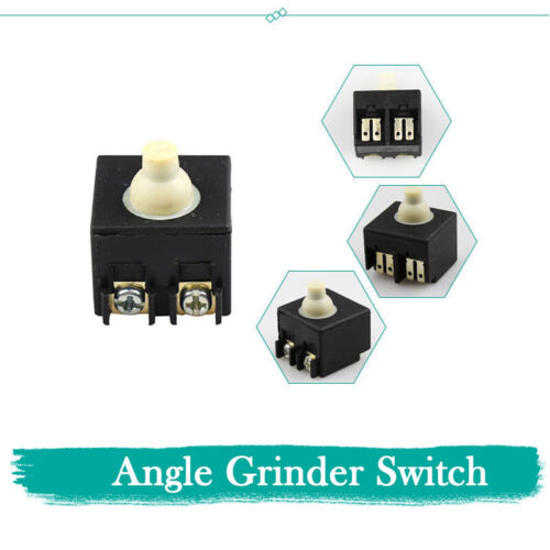 Angle Grinder AC 250V 6A Pushbutton Power Switch Fits For Bosch FA2-6//2W 6-100