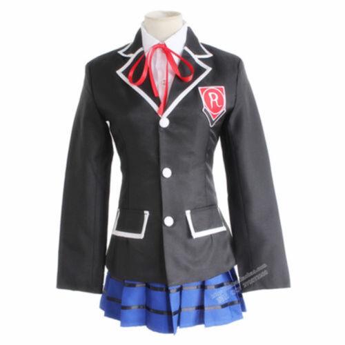New DATE A LIVE Tokisaki Kurumi Cosplay School Uniform Outfit Costume