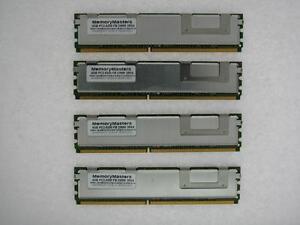 16go 4x4gb Kit Système Ibm X3400 3450 X X3500 X 3550 X 3650 Fbdimm 5300 Mémoire
