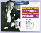 Gyorgy Sandor Plays Prokofiev (CD, May-2000, 3 Discs, Vox)
