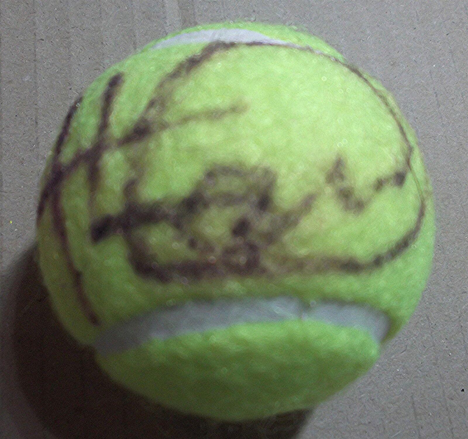 LLEYTON HEWITT- HAND SIGNED - TENNIS BALL