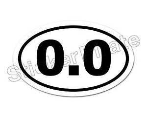 Oval-Euro-Car-Magnet-0-0-Marathon-Runner-Don-039-t-Run-Magnetic-Bumper-Sticker
