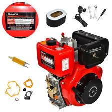 411cc 10hp Air Cooled Single Cylinder Diesel Engine 3600rpm 722mm Shaft