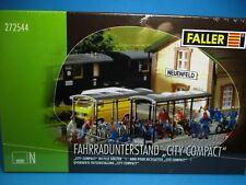 Faller 272544  Spur N   Fahrradunterstand City Compact   #NEU in OVP#