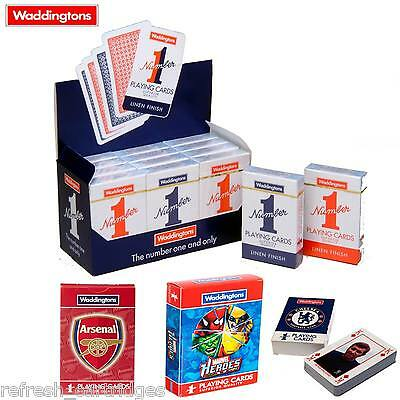 WADDINGTONS NUMBER ONE'S NO 1 CLASSIC PLAYING CARDS / SPECIAL / FOOTBALL EDITION