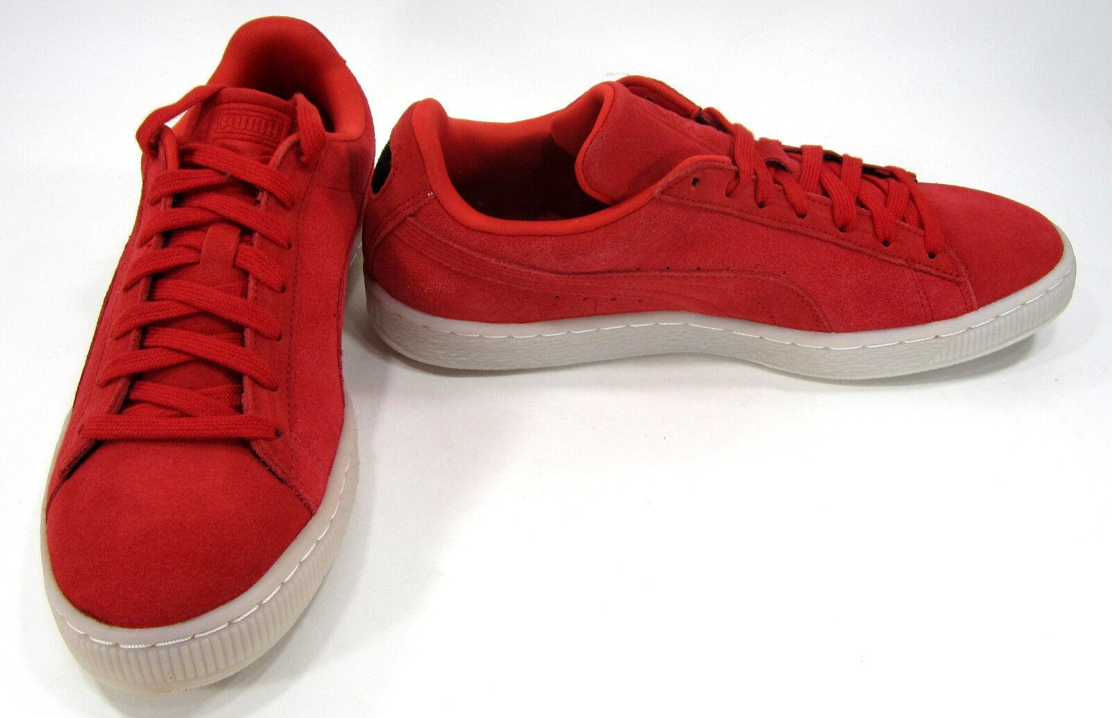 Puma Scarpe Suede Classic Colored High Risk Red Scarpe da Ginnastica Taglia 9.5