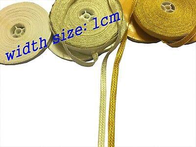gold briad lace width size 2CM price per metre