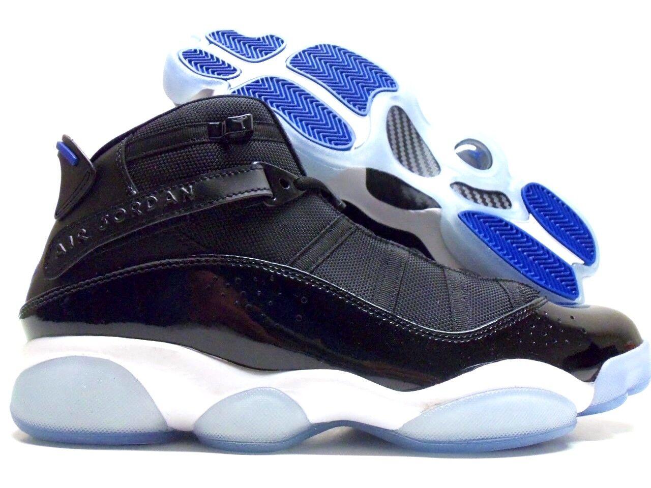 f1288d189d388f Nike Air Jordan 6 Rings Space Jam Black Cobalt White SNEAKERS Mens ...