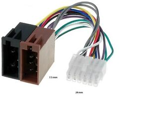 pioneer wiring harness adapter understanding electrical drawingspioneer wire wiring harness deh 343 r car radio connector adapter ebayimage is loading pioneer wire