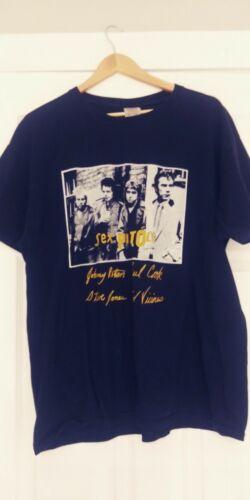 Rare Vintage 90s Sex Pistols T-Shirt XL Light Wear