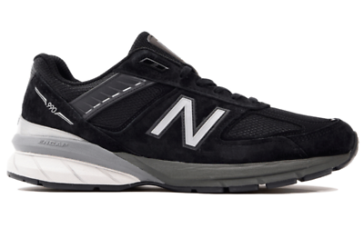 Men's Shoes Expressive New Balance Men's M990bk5 Running Sneakers Black/silver